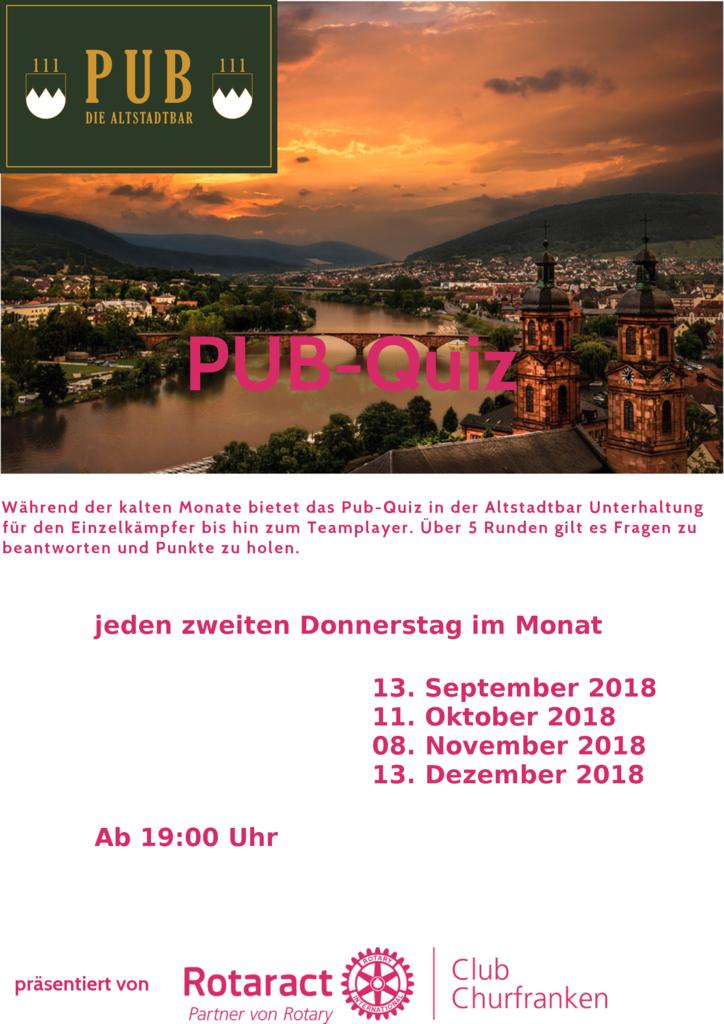 Pub-Quiz in Miltenberg @ Pub111 - Die Altstadtbar - | Miltenberg | Bayern | Deutschland